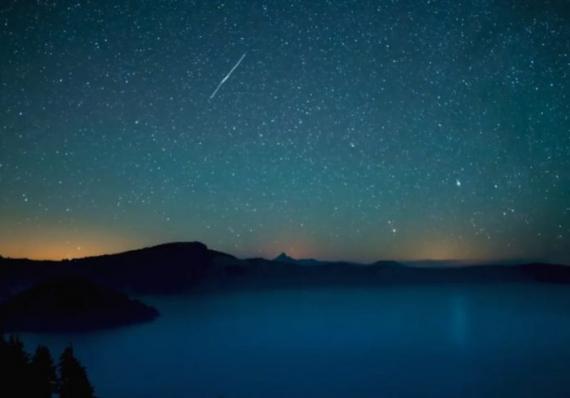 Estrelas cadentes do cometa Halley serão vistas hoje: como assistir