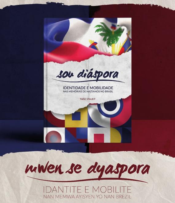 Livro que registra histórias de haitianos que vivem em Chapecó será pré-lançado neste sábado