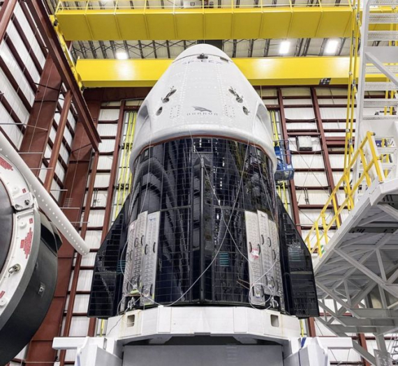 Lançamento da Nasa e da SpaceX: histórica missão leva astronautas à ISS na cápsula Crew Dragon