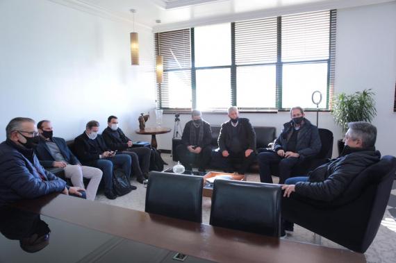 Fiesc e prefeito de Chapecó conversam sobre novo Instituto de Tecnologia