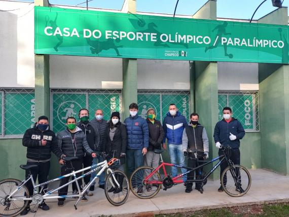 Pedal do Paradesporto no Complexo Esportivo do Verdão