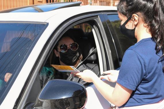 Escola municipal realiza ação de conscientização sobre o trânsito