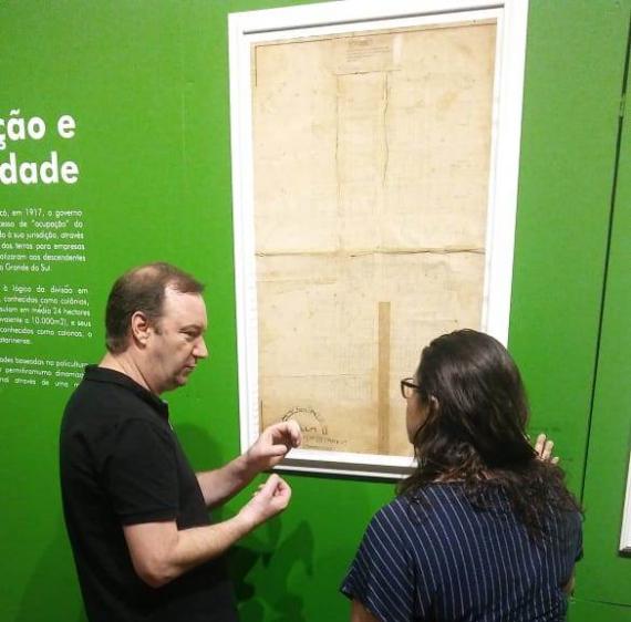 Museólogo Idemar Ghizzo visitou museus de Chapecó
