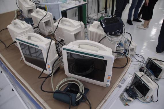 Chapecó empresta equipamentos para pacientes Covid de outros municípios