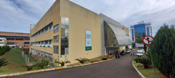 Segurança Presidencial vistoria o Centro de Eventos de Chapecó
