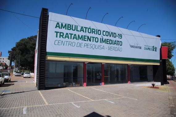Ambulatório Verdão teve três mil atendimentos e 2,1 mil consultas em um mês