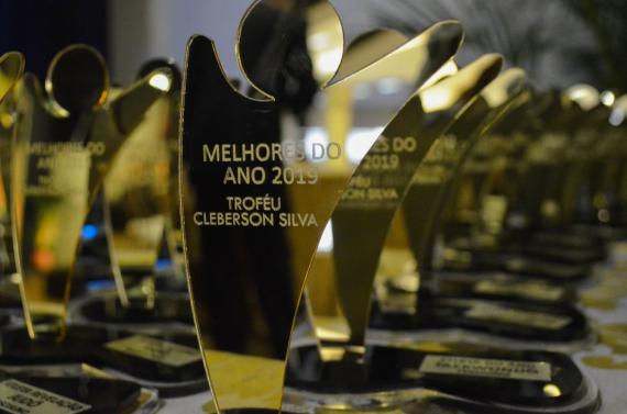 Premiação dos melhores atletas, técnicos e equipes da temporada
