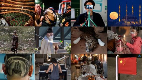 2020 em imagens: um olhar a cada mês sobre esse ano extraordinário