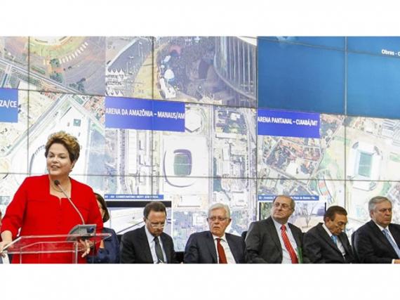 Em balanço da Copa, Dilma diz que Brasil derrotou prognósticos 'terríveis'