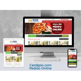 Cardápio com Pedido Online